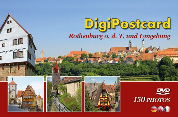 DigiPostcard Rothenburg ob der Tauber