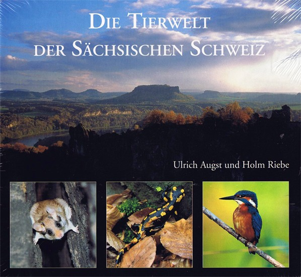 Wildlife of Saxon Switzerland - illustrated book