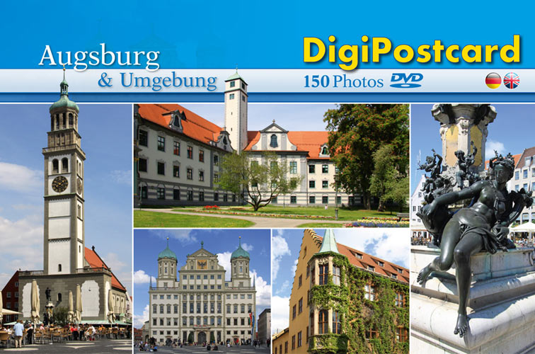 digipostcard augsburg und umgebung tourmedia digipostcard wanderkarten wanderf hrer. Black Bedroom Furniture Sets. Home Design Ideas